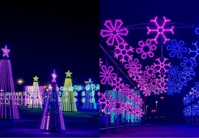 Brightening Up the Holidays at the Light Park in Spring!