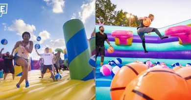 The World's Largest Adult Friendly Bounce House Is Coming to Texas!